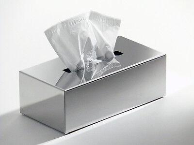 Tissuebox aus Edelstahl hochglanzpoliert Schönbeck Design