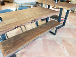 Summer Clearance Sale on Solid Wood Tables!