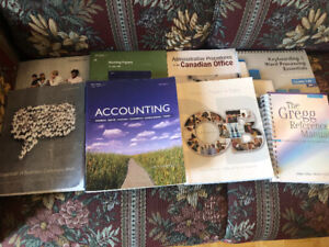 Fanshawe Office Administration Textbooks all First year.