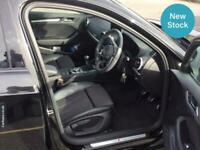 2018 Audi A3 30 TFSI 116 Black Edition 5dr HATCHBACK Petrol Manual