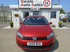 2009 VOLKSWAGEN GOLF 1.4 S - 68,901 MILES - FULL SERVICE HISTORY - LOW INSURANCE