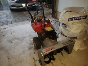 Craftsman Snowblower needs time up.