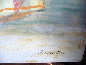 Opera, 'The Barber of Seville' Original Oil by Geoffrey Traunter Stratford Kitchener Area image 4