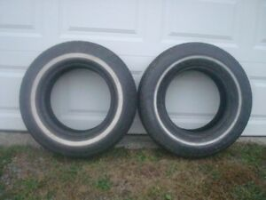 2 all season tires, just came off rims