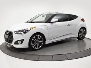 2016 Hyundai Veloster Turbo + DCT, TOIT, NAVI + SUNROOF AND GPS