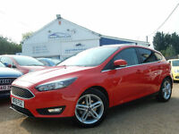 2015 15 Ford Focus 1.5 TDCi Zetec 5dr (start/stop) - RAC DEALER