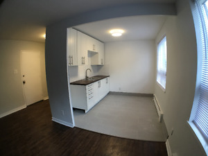 Fully renovated 2 bedroom / 1 bathroom apartment in Mimico