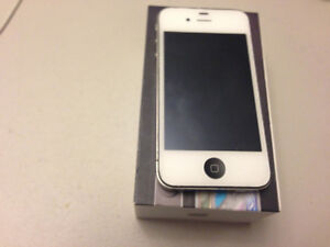 MINT IPHONE 4 IN BOX APPLE ROGERS VIRGIN