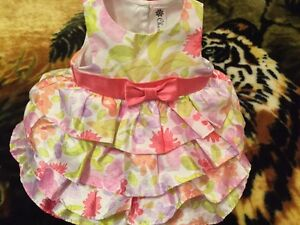 Baby girl dress size 6 months