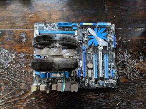 ASUS P7P55D-E Pro LGA1156 Motherboard + Intel i5 760 CPU