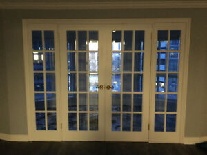 French doors — excellent quality and condition