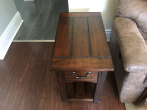 Coffee table and two end tables $400.00 obo.