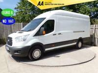 2018 Ford Transit LWB HIGH ROOF JUMBO A/C EURO 6 *NO VAT* LWB Panel Van Diesel M