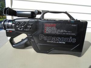 Vintage Panasonic PV-602-K Omnimovie VHS HQ Camcorder