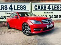 2012 MERCEDES C250 CDI BlueEFFICIENCY AMG Sport Plus 4dr Auto 99K MILES FSH