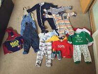 Baby boy 9-12 bundle clothe