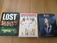 DVD BUFFY - LOST - DESPERATE HOUSEWIVES