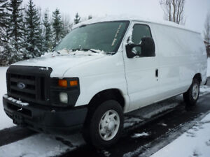 2012 Ford Econoline E-150 Cargo Van, LOW KMS! FULLY LOADED!!!