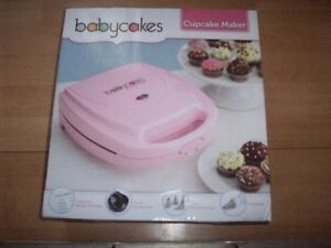 Babycakes Cupcake Maker and Electric Knife