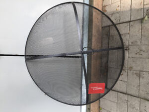 Fire pit mesh cover new