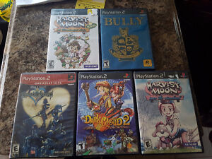 Classic PS2 games - great for collectors!