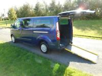2014 64 Ford Transit Custom 2.2 Tdci *9 SEATS* Wheelchair Accessible Vehicle WAV