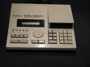 Roland MC 500 music composer (vintage)