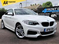 2016 BMW 2 SERIES 218I M SPORT AUTOMATIC COUPE PETROL COUPE PETROL