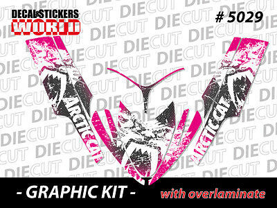 SLED GRAPHIC STICKER DECAL WRAP KIT ARCTIC M8 M7 M SERIES CROSSFIRE  06-11 5029