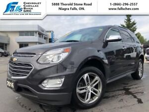 2016 Chevrolet Equinox LTZ  NAV,LEATHER,SUNROOF,POWER LIFTGATE
