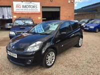 2005 Renault Clio 1.5 dCi Dynamique S 86 ( a/c ) **Black 3dr **ANY PX WELCOME**