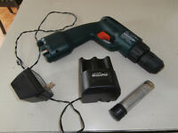 tout pour $85  1 drill with charger on battery's like new  2 ot