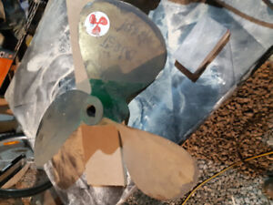 Large Brass propellers