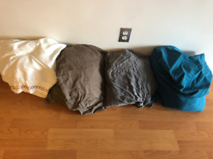 4 sets of king size bed sheets