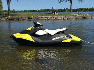 LIKE NEW 2015 SEA-DOO SPARK 2UP IBR ROTAX