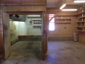 Wood Shop space with spray room for rent Kawartha Lakes Peterborough Area image 5