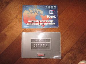 2002 Sierra truck manual