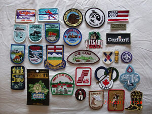 ASSORTMENT OF EMBROIDERED PATCH COLLECTION