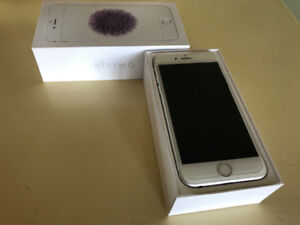 IPhone 6  64 g. White  with all accessories in box