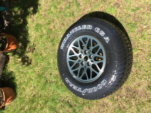 New Jeep Cherokee Tire and Rim