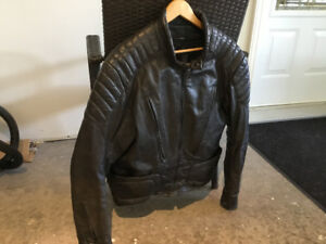 Bristol Leather, Made in Canada, Motorcycle Jacket