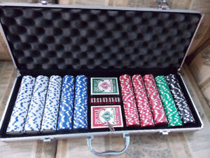 QUALITY PROFESSIONAL clay POKER SET