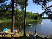 630 Ft. of Frontage and SW Exposure on Tooke Lake
