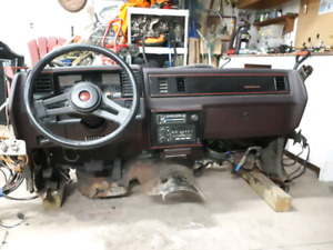 1987 Monte Carlo SS Dash. Complete firewall