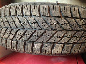 P235/55R17 Goodyear winter
