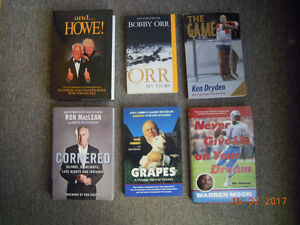 Crosby,Bobby Orr, Gordie Howe, Gretzky, & 8 Other books for Sale