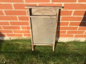 Vintage washboard
