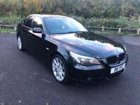 2006 BMW 520d 2.0TD AUTOMATIC-FULL HEATED LEATHER-FULL SAT NAV-2 KEYS