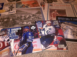 1993 TORONTO MAPLE LEAFS FANS NEWSPAPER SCRAPBOOK COLLECTION WOW Cambridge Kitchener Area image 8