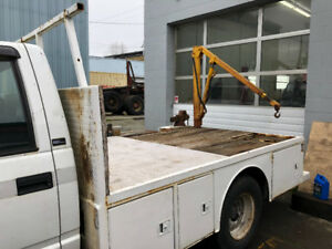 1995 GMC flatbed 3500 Dually with extras